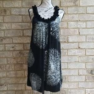 Gorgeous Poleci Dress Black/Silver Sz 2